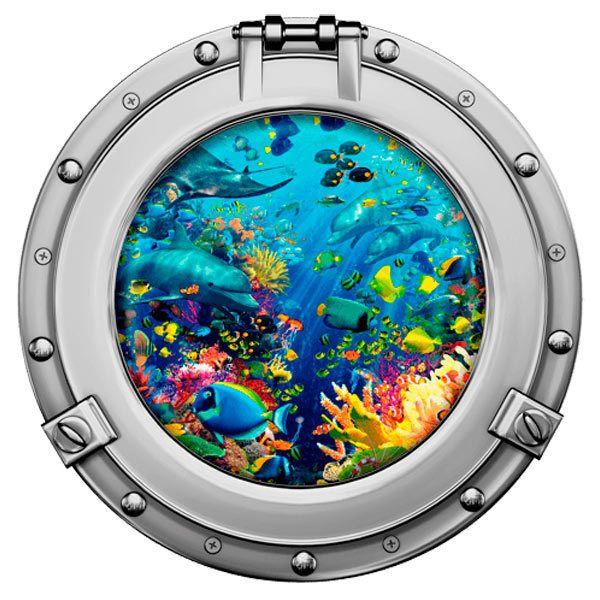Wandtattoos: Meeresbodens