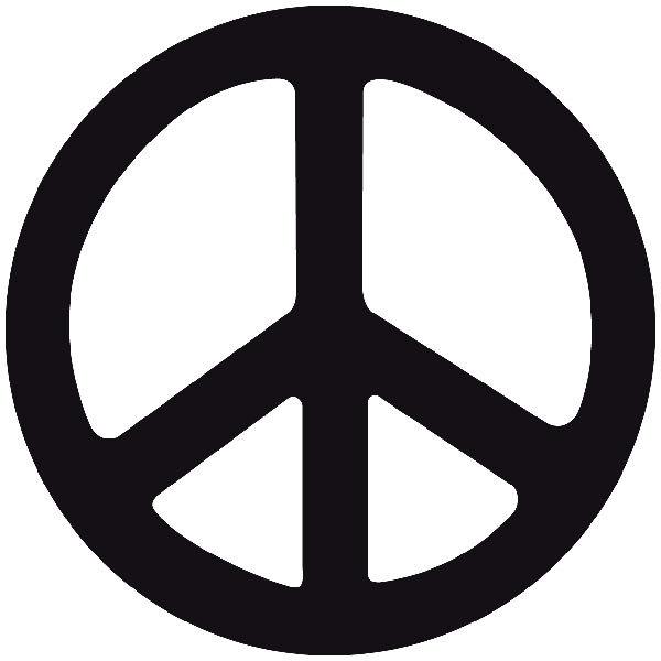 Aufkleber: Peace