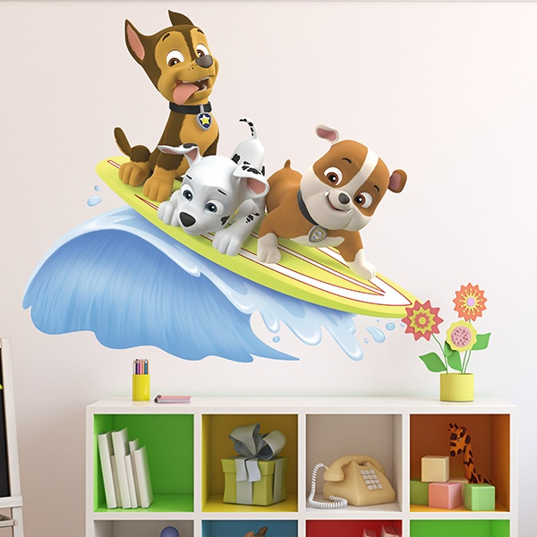 kinderzimmer wandtattoo paw patrol. Black Bedroom Furniture Sets. Home Design Ideas