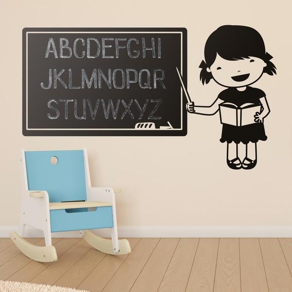 Kinderzimmer Wandtattoo: Slate Profe
