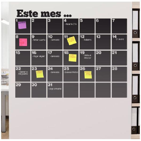Wandtattoos: Tafel Kalender Organizer
