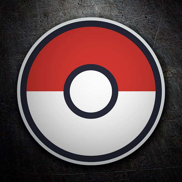 Wandtattoos: Pokeball - Pokémon Go  1