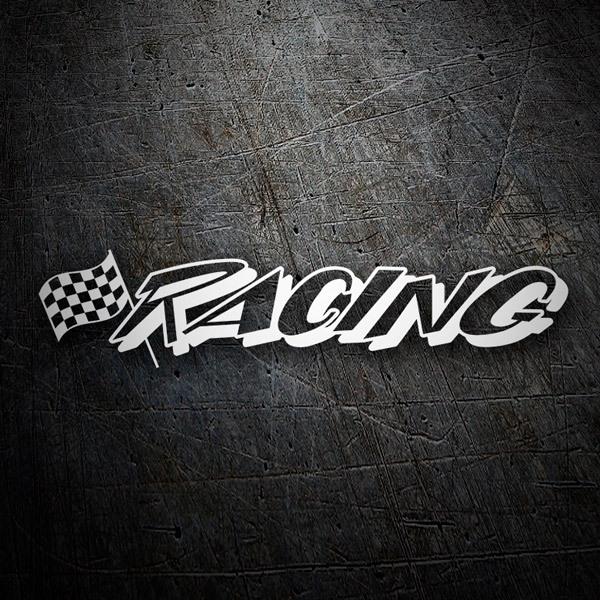 Aufkleber: racing3