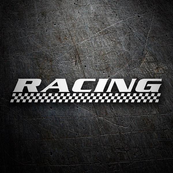 Aufkleber: racing5