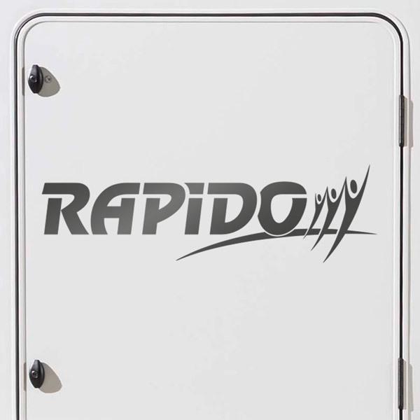 Aufkleber: Rapido 1
