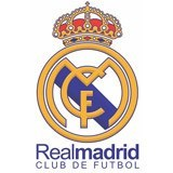 Kinderzimmer Wandtattoo: Aufkleber Real Madrid 15 x 40