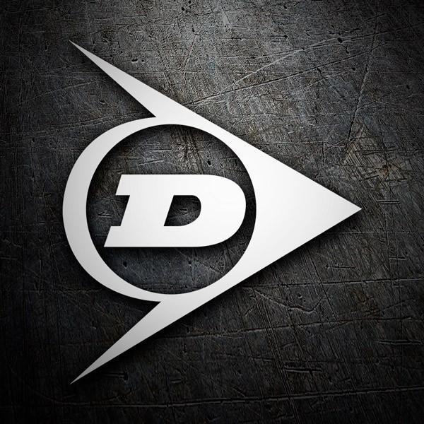 Aufkleber: Logo Dunlop