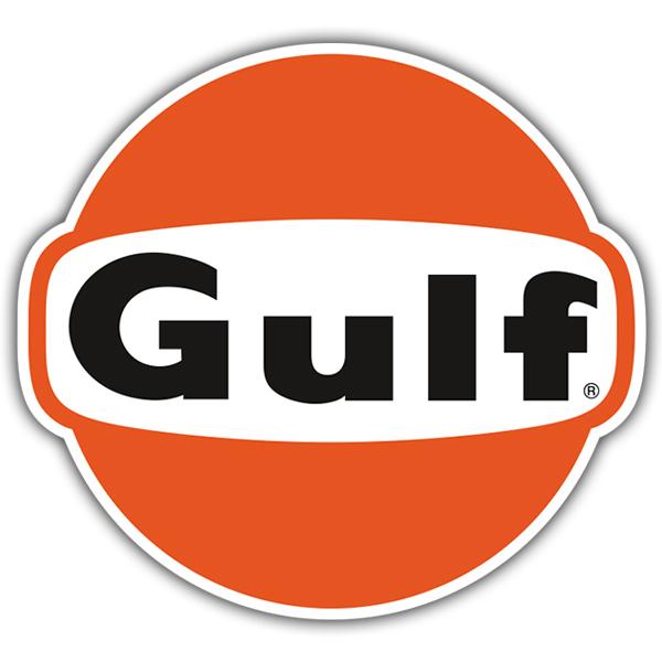 Aufkleber: Gulf 2