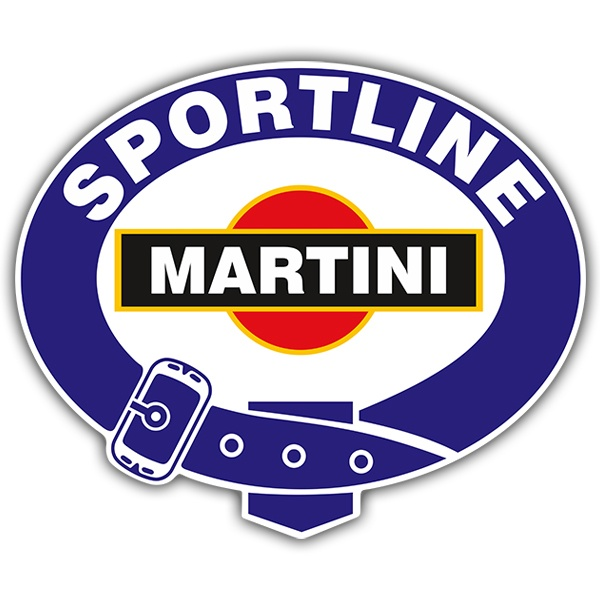 Aufkleber: Martini sportline