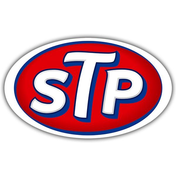 Aufkleber: STP
