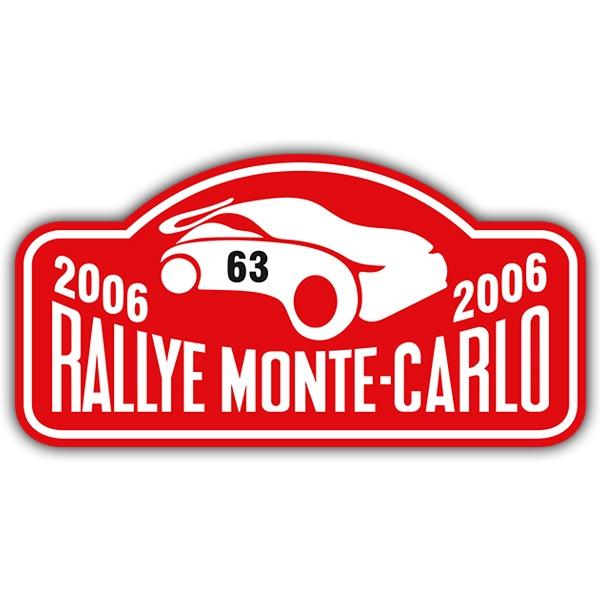 Aufkleber: Rallye Monte-Carlo II