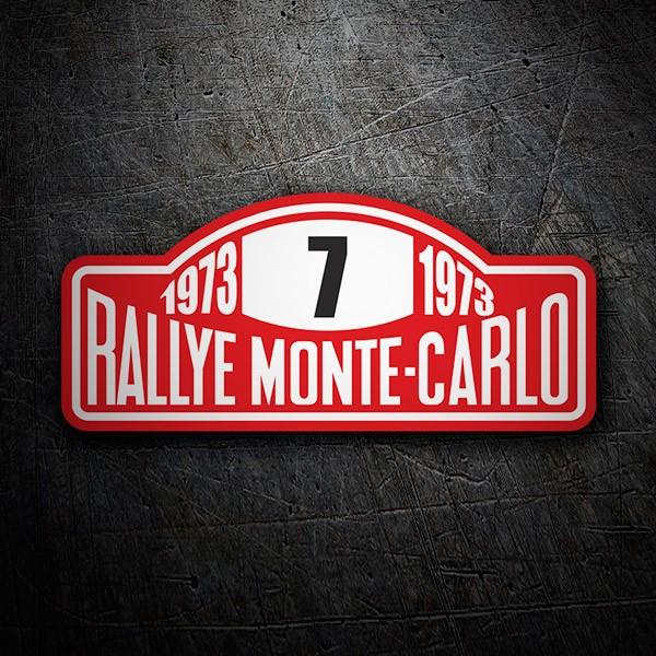 Aufkleber: Rallye Monte-Carlo
