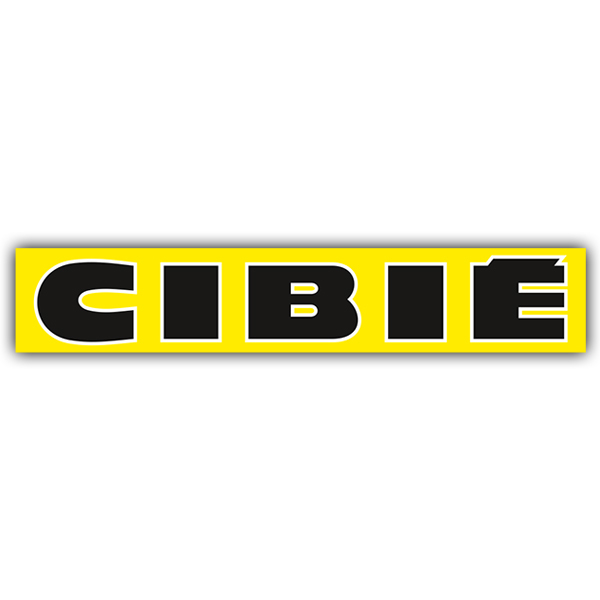Aufkleber: Cibie