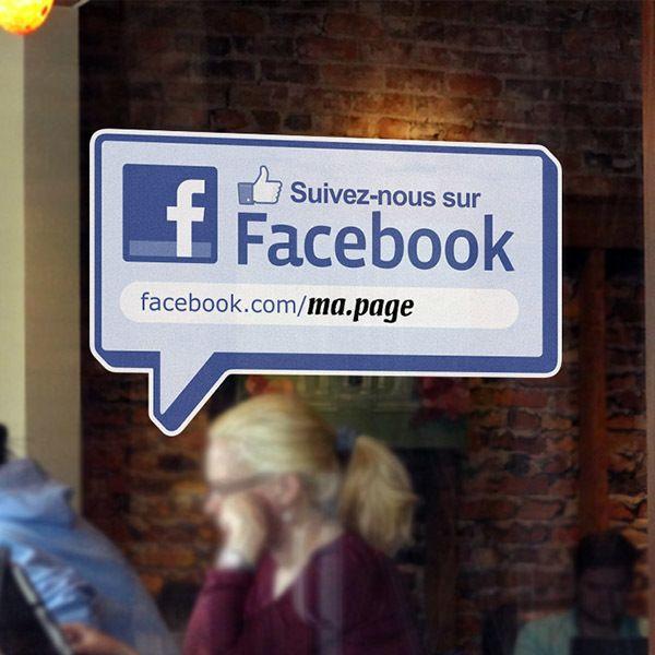 Wandtattoos: Suivez-nous sur Facebook
