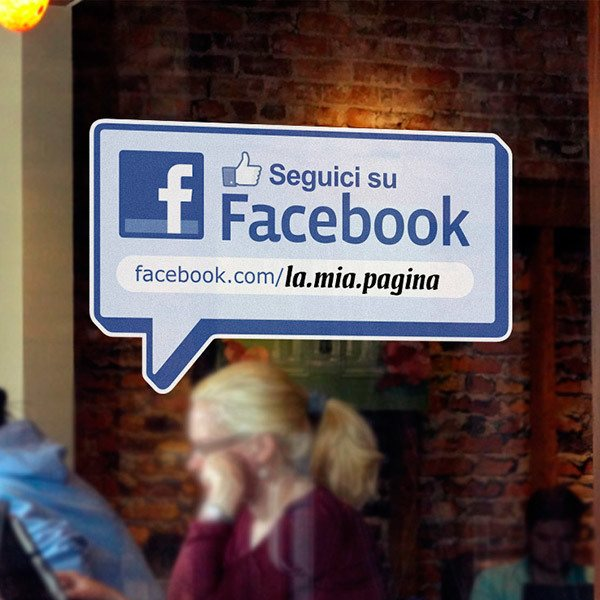 Wandtattoos: Seguici su Facebook