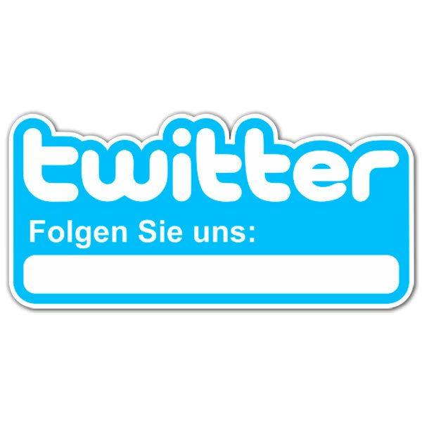 Wandtattoos: Folgen Sie uns auf Twitter