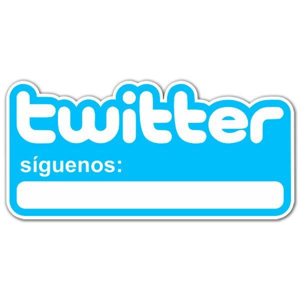 Wandtattoos: Síguenos en Twitter