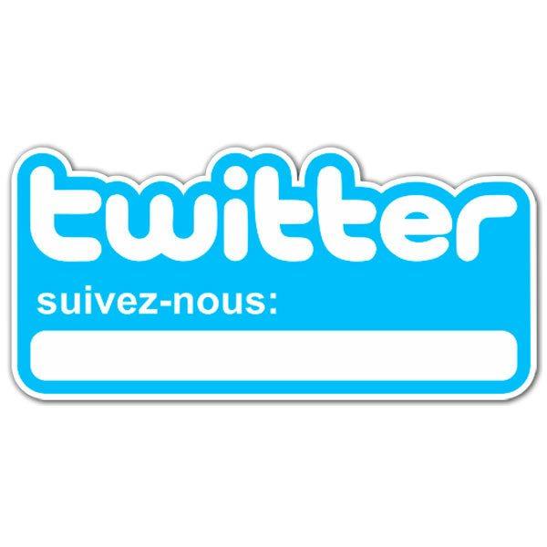 Wandtattoos: Suivez-nous sur Twitter