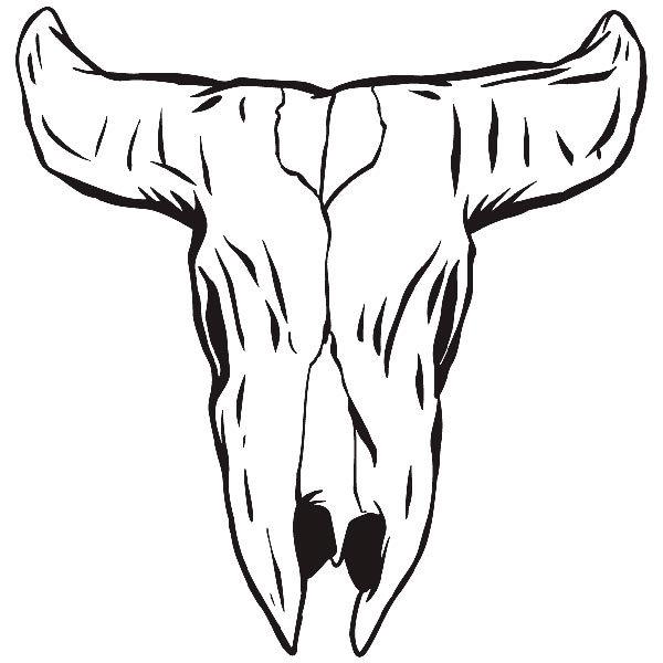 Aufkleber: skull10