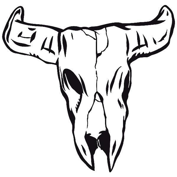 Aufkleber: skull14