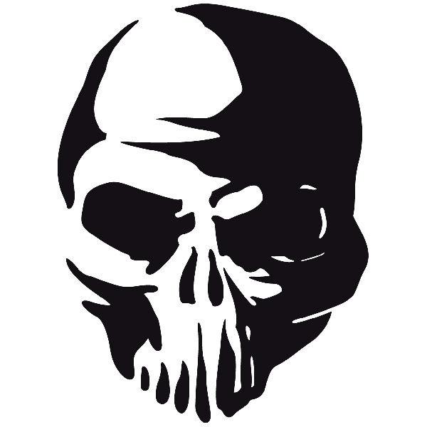 Aufkleber: skull21
