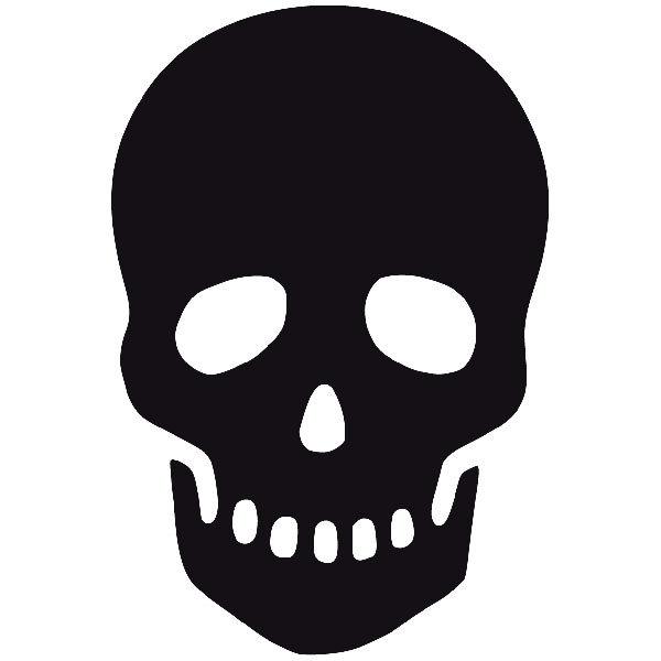 Aufkleber: skull47