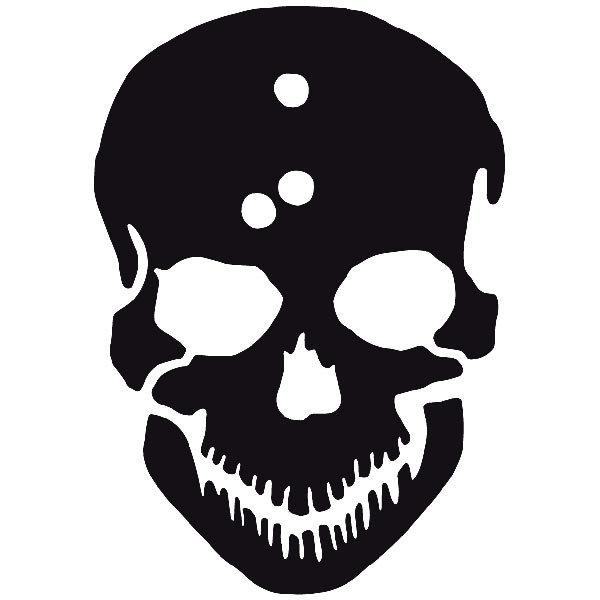 Aufkleber: skull51