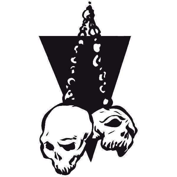 Aufkleber: skull53