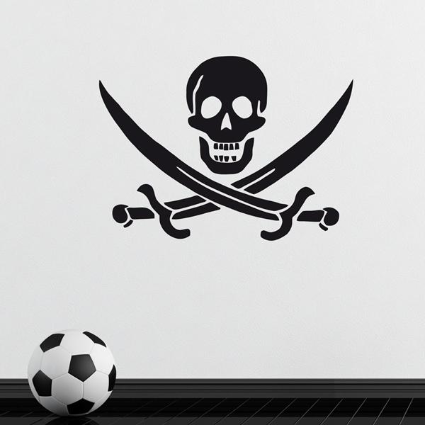 Aufkleber: Pirate John Rackham