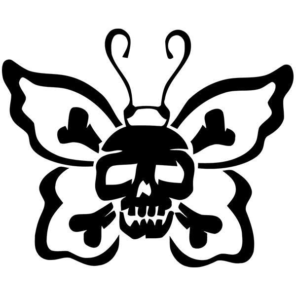 Aufkleber: Skull 61