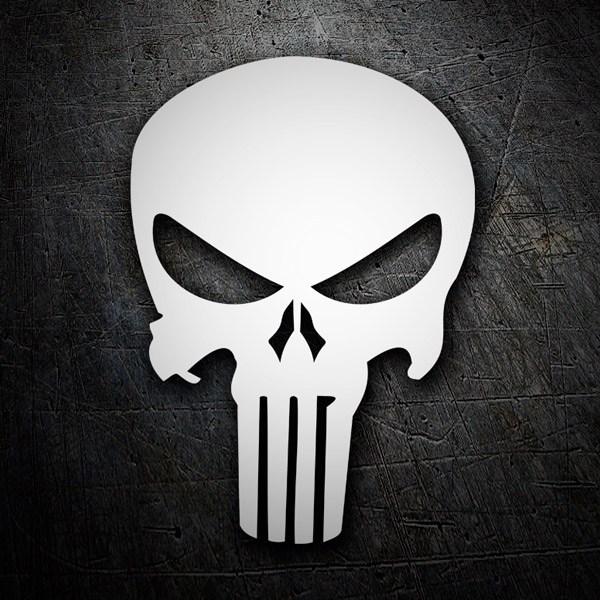 Aufkleber: Skull Punisher
