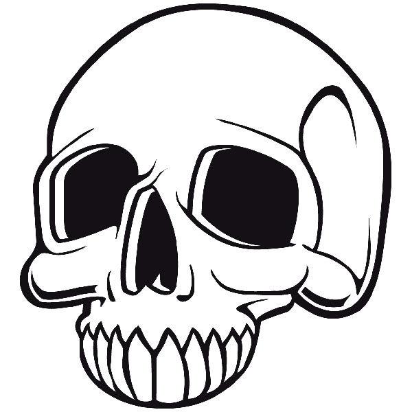Aufkleber: Skull 73