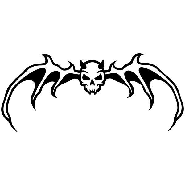 Aufkleber: Skull 78