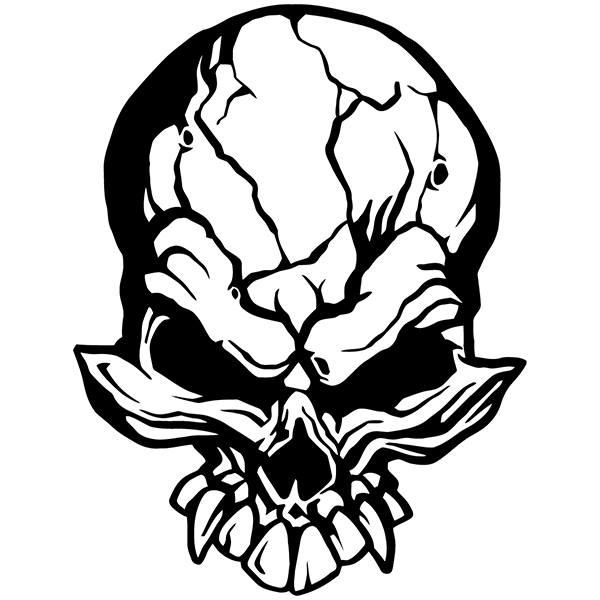 Aufkleber: Skull 79