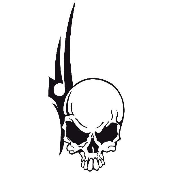 Aufkleber: Skull 91