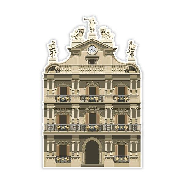 Wandtattoos: Pamplona Stadtrat