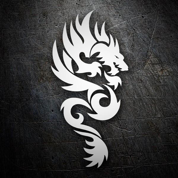 Aufkleber: Dragones
