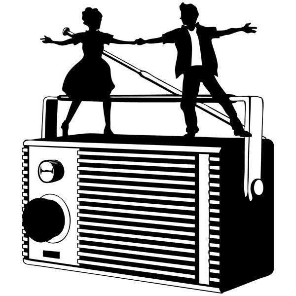Wandtattoos: Radio