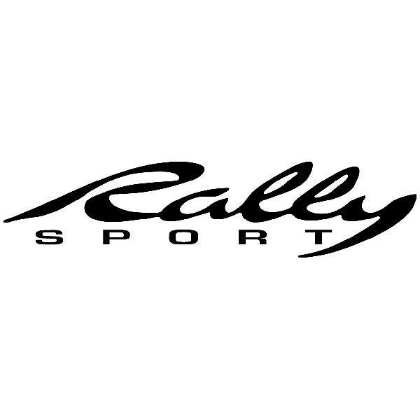 Aufkleber: Rally Sport