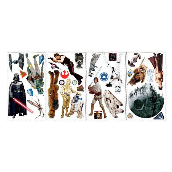 Wandtattoos: Klassische Star Wars Wandtattoo