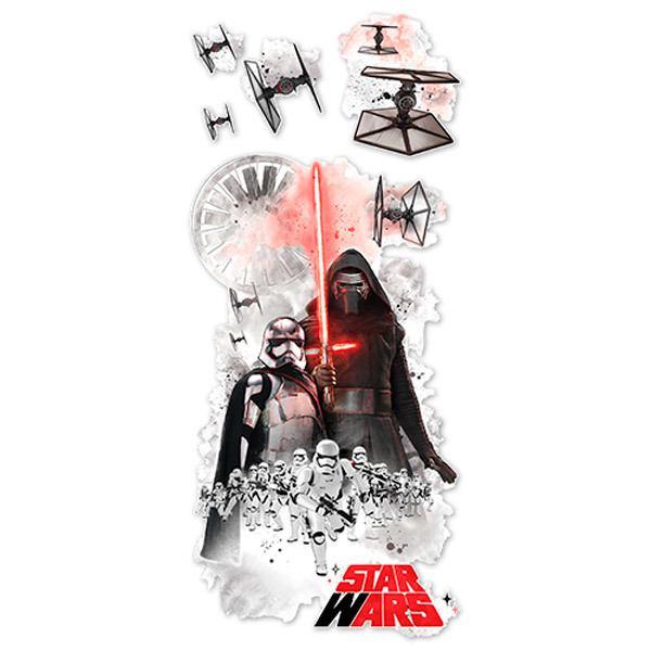 Wandtattoos: Riesen Villain-Wandtattoo Star Wars