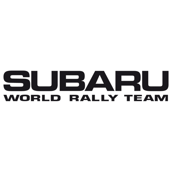 Aufkleber: Subaru World Rally Team