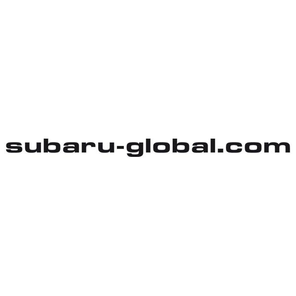 Aufkleber: Subaru - global.com
