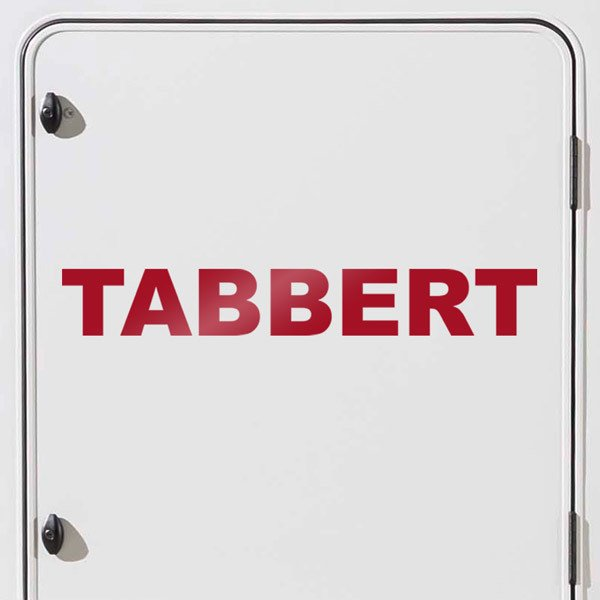 Aufkleber: Tabbert 2
