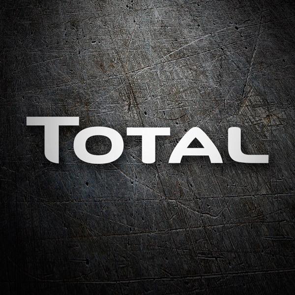 Aufkleber: Total