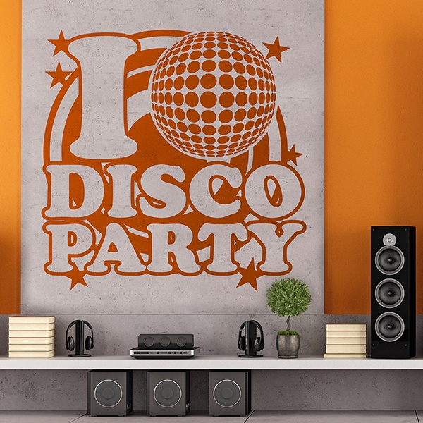 Wandtattoos: DiscoParty 0