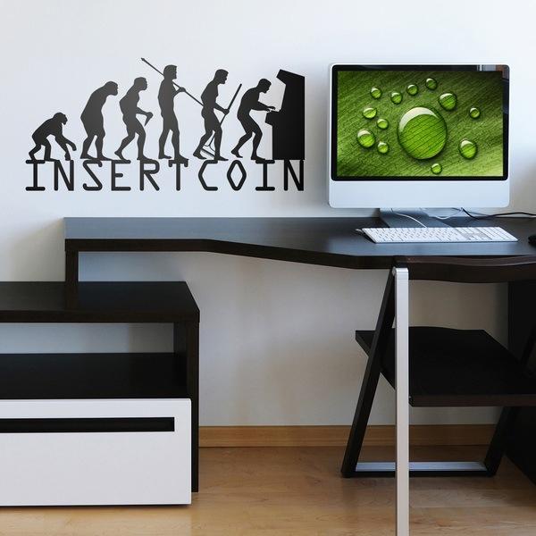 Wandtattoos: Evolucion InsertCoin