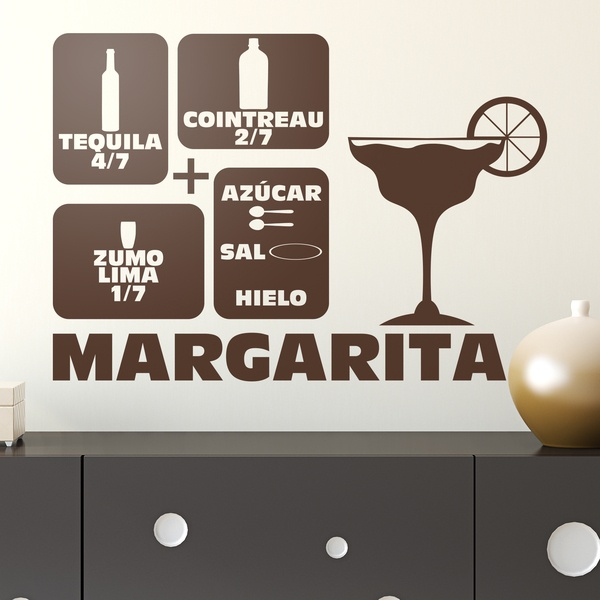 Wandtattoos: Cocktail Margarita 0