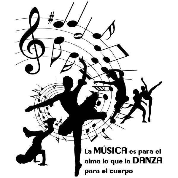 Wandtattoos: Dance