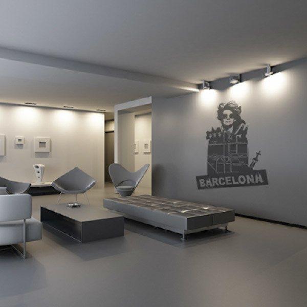 Wandtattoos: Barcelona
